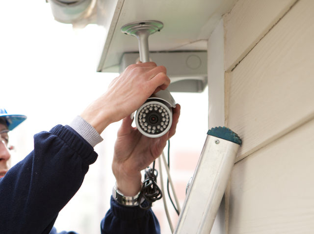 use cctv to protect your home